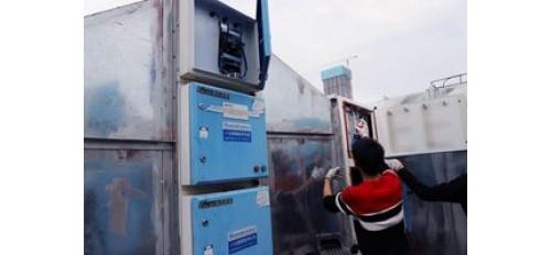 广杰GOJEK:静电油烟净化设备手动清洗与自动清洗差异!